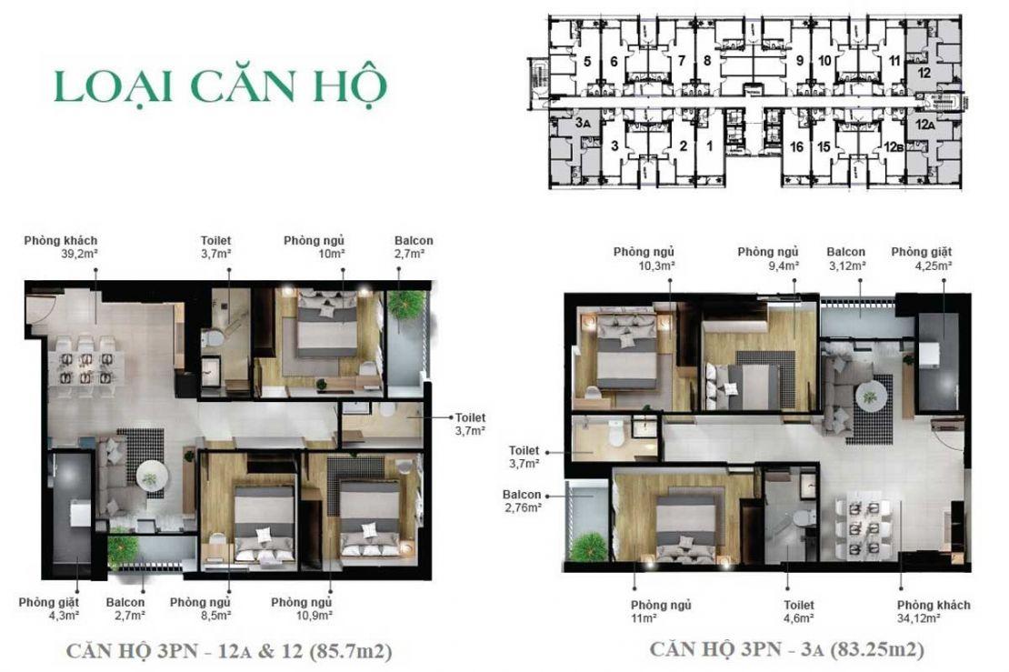 04.1 Mặt bằng dự án Eco Xuân residence - Công ty Cổ phần Đầu tư Kinh Doanh và Kinh doanh Bất động sản Happy Homes